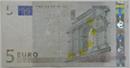 擦り減ったユーロ札の画像