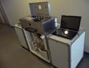 秤量ユニットを組込んだ分包装置(試作機)